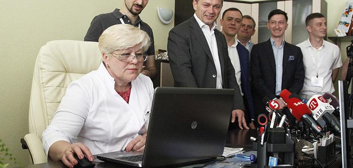 ВКиеве к государственной системе e-Health подключили первое медицинское заведение Украинского государства