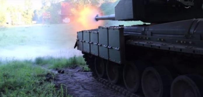 Вгосударстве Украина записали постановочный ролик станком «Оплот»