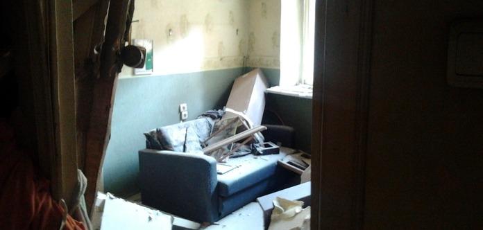 Подогревали парафин: В киевской квартире произошел взрыв, двое людей получили ожоги