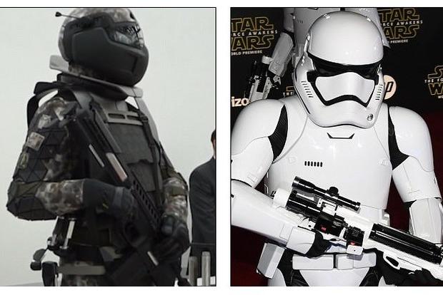 Daily Mail: русский солдат будущего похож наштурмовика из«Звездных войн»
