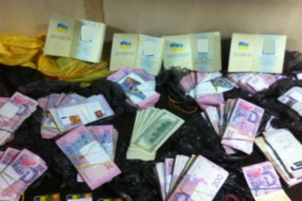 В Донецкой области «Фантом» не пропустил на оккупированные территории крупную партию наличности