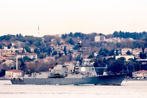 В Черное море зашел американский эсминец с ракетами Tomahawk