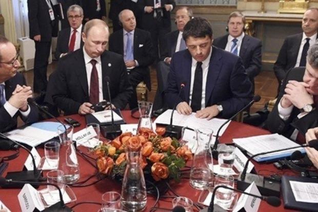 Да я тебя раздавлю!. Президент Франции рассказал, как Путин угрожал Порошенко