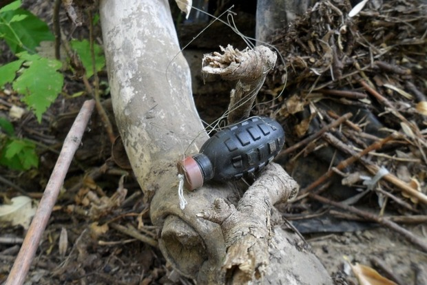 В Луганской области военный подорвался на неизвестном взрывном устройстве