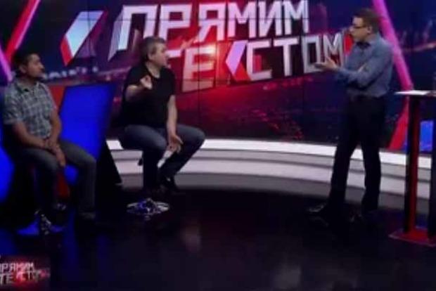 Свобода слова: гостя украинского телешоу выгнали сэфира зарусскую речь