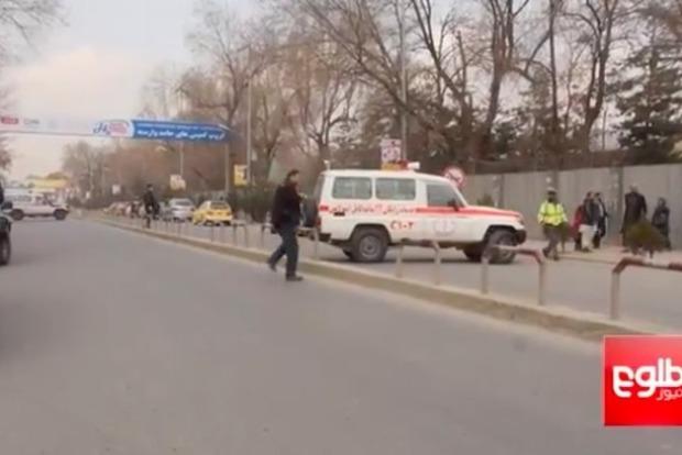 В Сети опубликовали видео теракта в госпитале в Кабуле