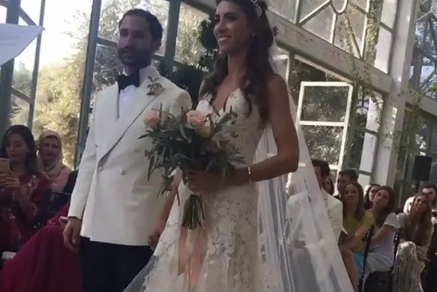 Старшая дочь Меладзе вышла замуж за журналиста телеканала Al Jazeera