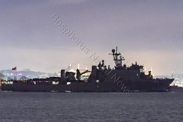 Десантный корабль США зашел в Черное море