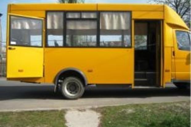 В Лисичанске из автобуса выпали двое детей