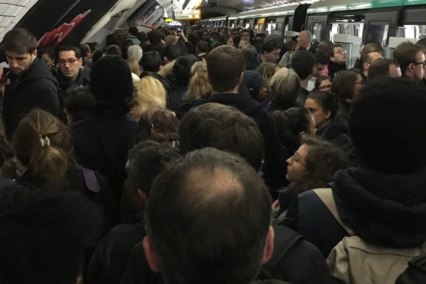 Ворованная коза парализовала метро в Париже