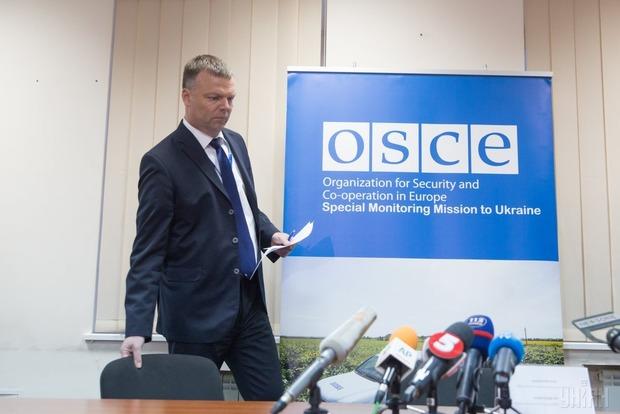 Хуг о подрыве патруля ОБСЕ: Это мина - нарушение Минского меморандума