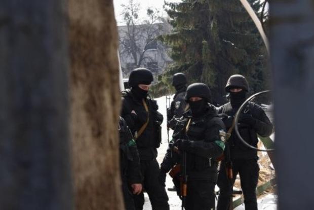 В полиции рассказали, что искали в офисе Национального корпуса