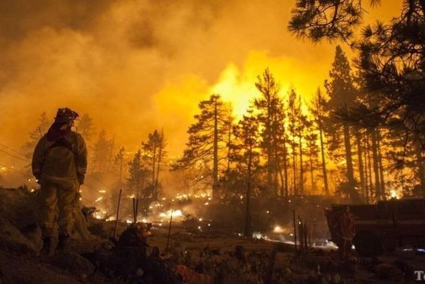 В США из-за лесных пожаров были эвакуированы 8 тыс. человек
