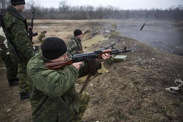 Во время обстрелов боевики применили зенитки