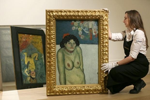 Картину Пикассо с обнаженной певицей продали за 67 миллионов долларов