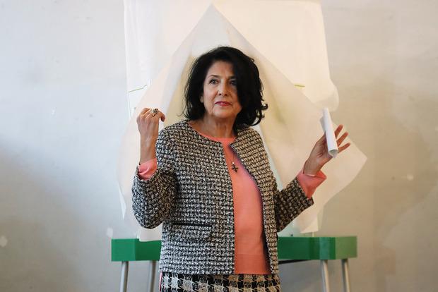 Вибори в Грузії: президентом вперше стала жінка