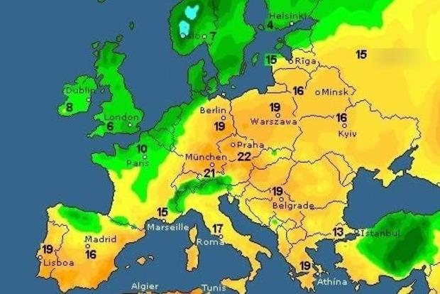 В субботу-воскресенье везде в Украине будет тепло и солнечно