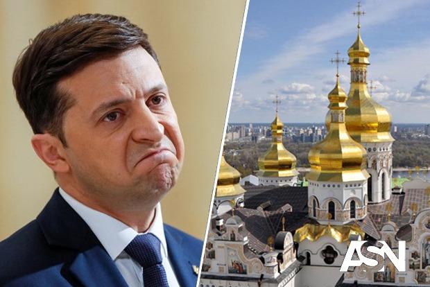 Зеленский повторил свой ответ в отношении Киево-Печерской Лавры