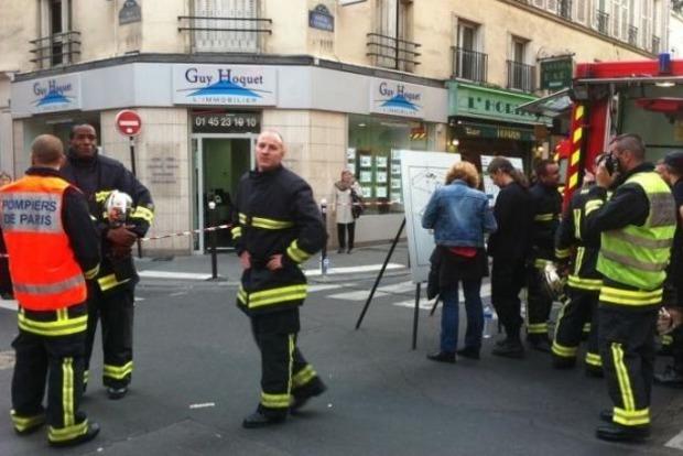 В центре Парижа произошел взрыв