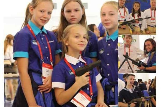 В крымском «Артеке» оккупанты обучают детей стрелять