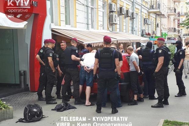 Вцентре украинской столицы задержана группа людей, планировавших провокацию