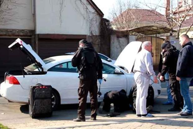 В авто, в котором произошел взрыв в Одессе, ехал Дарт Вейдер