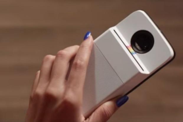 Lenovo сделала Polaroid для Motorola