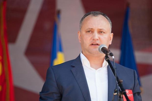 Додон заявил о своей победе на президентских выборах Молдовы
