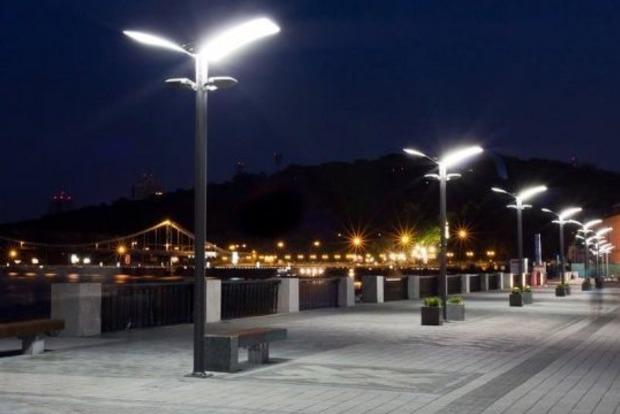 Киев потратит 300 миллионов на обновление освещения улиц