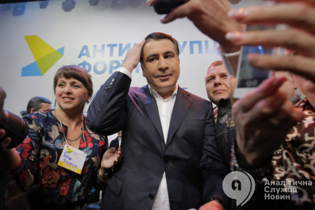 Саакашвили заявляет, что в течении двух дней его посадят в СИЗО