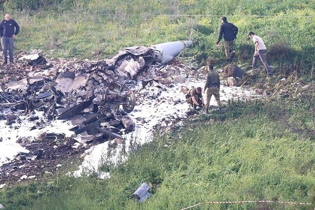 ВВС Израиля после сбитого F-16 нанесли новые авиаудары по Сирии