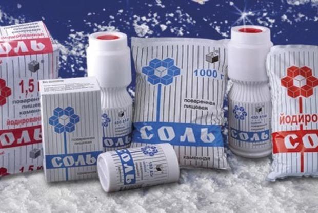 Правительство РФ сняло запрет на импорт украинской соли