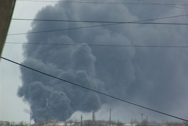 В Краснодоне локализовали пожар на ж/д станции