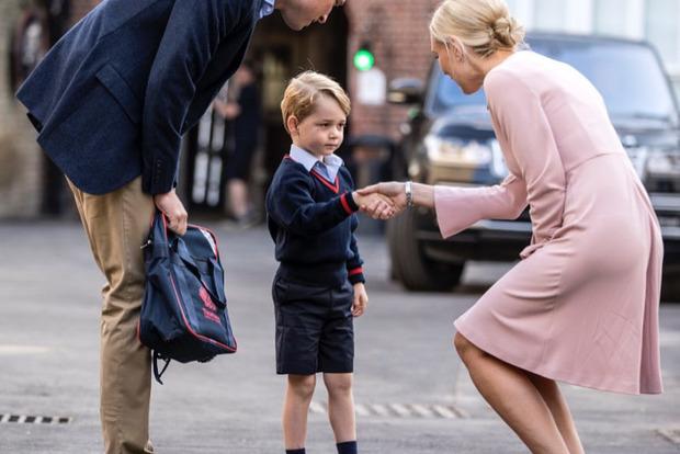 Маленький принц Джордж стал самым стильным британцем