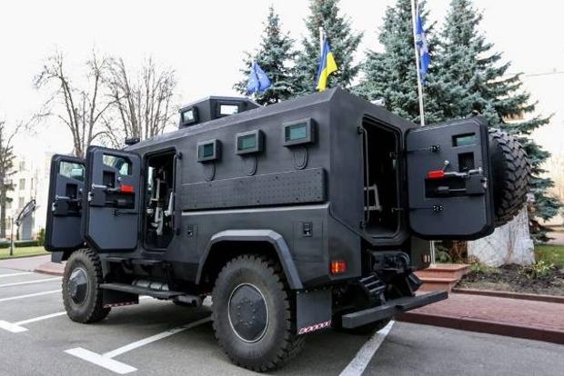 Нацгвардия и подразделения КОРД получат новые бронемашины