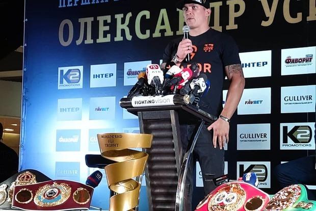 Усик не хочет получить звание «Герой Украины»