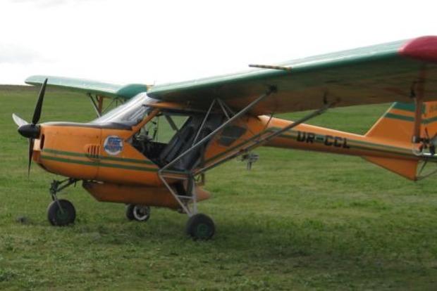 Под Харьковом упал одномоторный самолет