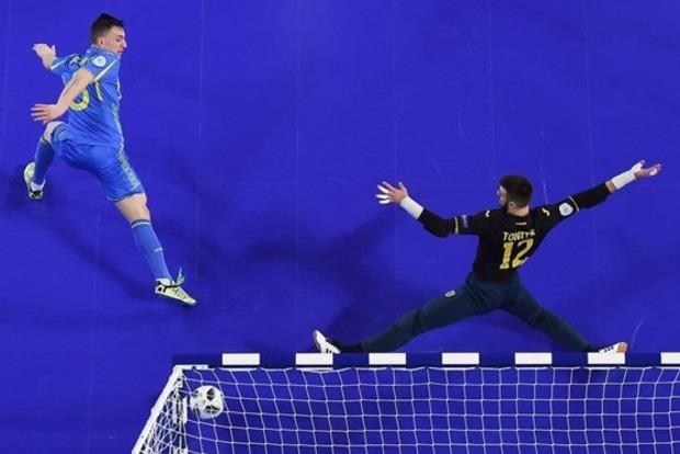 Украина победила Румынию и вышла в плей-офф ЧЕ-2018 по футзалу