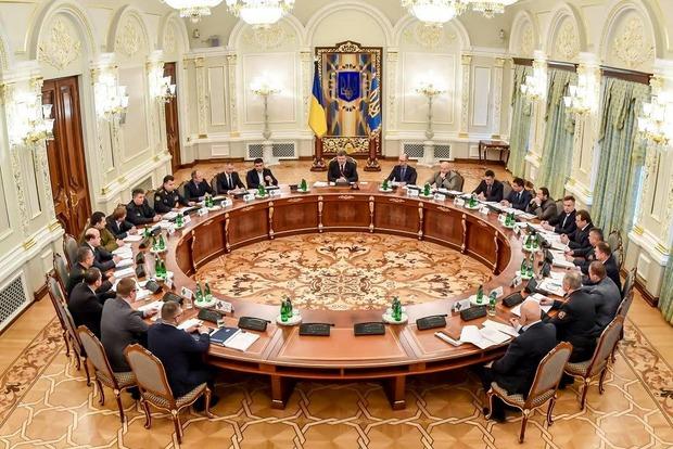 СНБО сегодня рассмотрит законопроект о реинтеграции Донбасса
