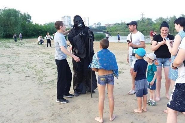 Смерть вийшла патрулювати порядок на пляжі і біля наливайок
