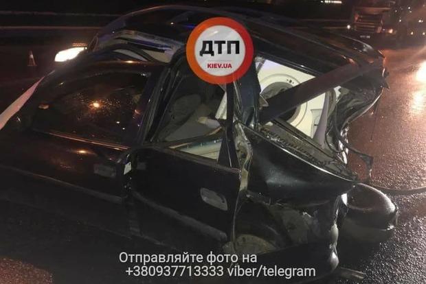 Намосту вКиеве случилось смертельное ДТП: фото ипервые детали