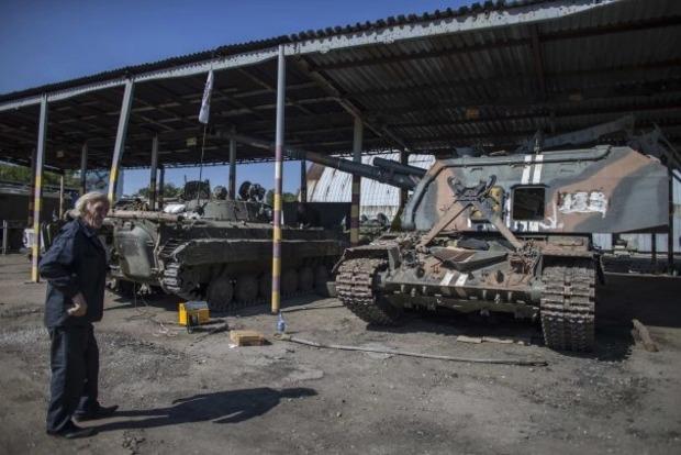 Боевики прячут запрещенное оружие на гражданских объектах - разведка