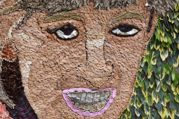 У художника дрогнула рука? Англичане в ярости из-за уродливого цветочного портрета принцессы Дианы