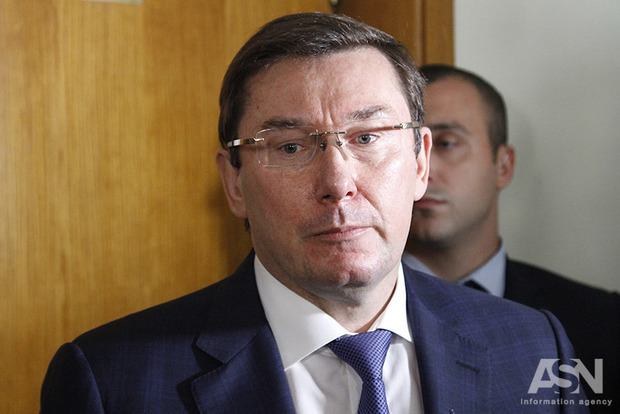 Луценко просит Раду разрешить задержать депутата Бакулина