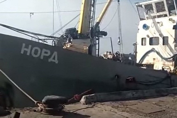 Задержанного капитана судна «Норд» везут в суд Херсона
