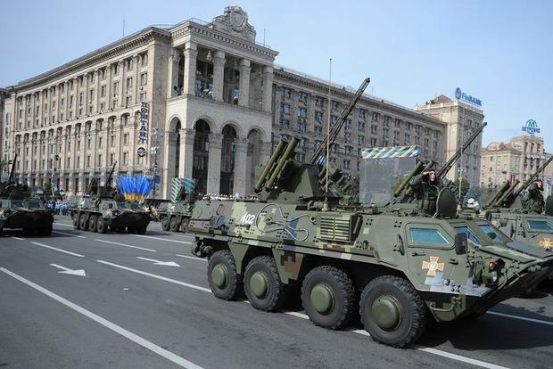 На параде ко Дню независимости Украины покажут новые образцы техники