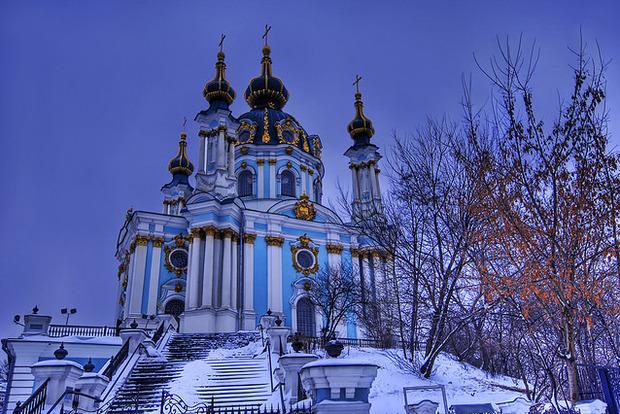 В Андреевской церкви впервые проведут службу Вселенского патриархата