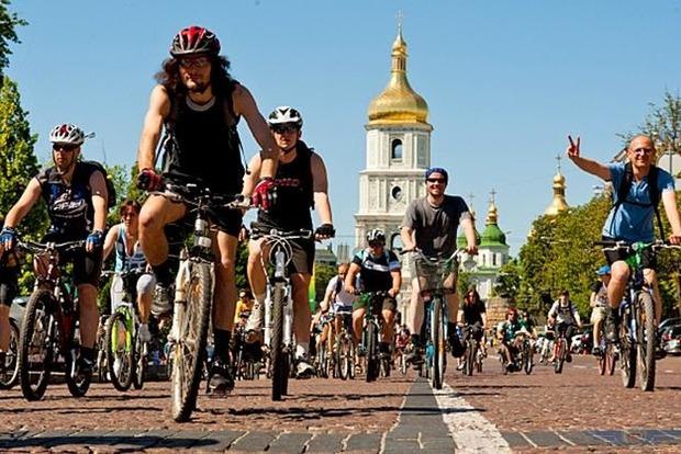 Велопарад в Киеве. Где 20 мая будут перекрыты дороги