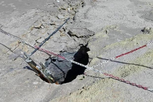 В Италии семья погибла, упав в вулкан