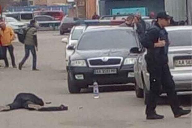 В Киеве произошла стрельба, ранен один человек